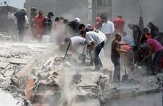 [Photo] Công tác cứu hộ sau trận động đất kinh hoàng ở Mexico