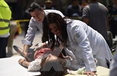 [Video] Người dân Mexico chưa hết bàng hoàng sau trận động đất