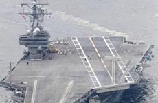 Tàu sân bay Ronald Reagan của Mỹ tham gia tập trận với Nhật Bản