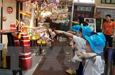 Đắm chìm trong không gian của trò chơi truyền thống ở Lễ hội Trung thu