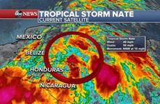 Bão nhiệt đới Nate đổ bộ vào Trung Mỹ làm hàng chục người thương vong