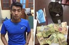 Bắc Ninh: Bắt đối tượng cướp 200 triệu đồng trong ngân hàng