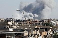 Liên minh do Mỹ dẫn đầu không kích các khu vực IS kiểm soát ở Raqqa