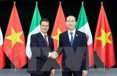 [Photo] Chủ tịch nước tiếp nhiều nhà lãnh đạo dự Tuần lễ Cấp cao APEC