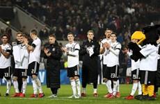 Bảng xếp hạng FIFA tháng 11: Tuyển Đức vẫn giữ vững vị trí số 1