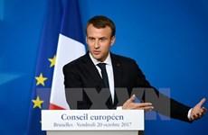 Tổng thống Pháp Macron được vinh danh nhờ đóng góp cho EU