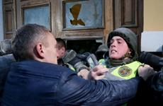 Biểu tình bùng phát thành bạo lực dữ dội ở thủ đô Ukraine