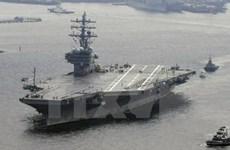 """Hải quân Mỹ """"hoàn toàn sẵn sàng"""" trước mối đe dọa Triều Tiên"""