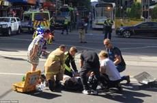 Hiện trường hỗn loạn vụ xe ôtô lao vào đám đông ở Australia