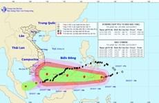 Bão Tembin có thể mạnh thêm, bão số 15 suy yếu thành áp thấp nhiệt đới