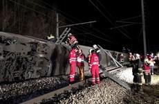 Áo: Tai nạn đường sắt nghiêm trọng khiến nhiều người bị thương