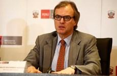 Bộ trưởng Nội vụ Peru từ chức, không công bố nguyên nhân