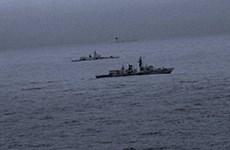 Hải quân Anh theo sát tàu khu trục của Nga đi qua Biển Bắc