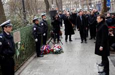 Tưởng niệm 3 năm vụ tấn công đẫm máu tạp chí Charlie Hebdo