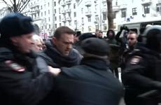 Cảnh sát Nga bắt giữ thủ lĩnh đối lập Navalny vì biểu tình trái phép