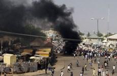 Đánh bom liều chết ở Nigeria khiến hàng chục người thương vong