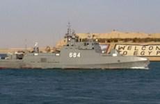 Hải quân Ai Cập, Pháp tiến hành cuộc tập trận chung ở Biển Đỏ