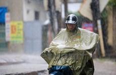 Bắc Bộ có mưa dông, đề phòng tố, lốc, mưa đá và gió giật mạnh