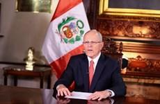 Quốc hội Peru thông qua kiến nghị nhằm phế truất Tổng thống Kuczynski