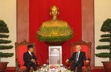 'Quan hệ giữa Việt Nam và Malaysia đang phát triển sâu rộng'