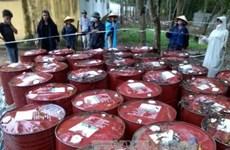 """Vụ chôn thuốc trừ sâu là sự kiện môi trường """"nóng"""" nhất 2013"""