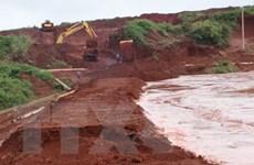 Bộ Tài nguyên Môi trường lên tiếng về sự cố vỡ hồ chứa thải quặng