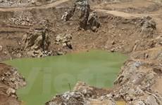 Phải bồi thường thiệt hại về môi trường trong khai thác khoáng sản