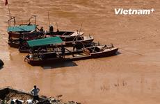 """Tỉnh Sơn La khẳng định nạn """"cát tặc"""" trên sông Mã đã bị chặn đứng"""