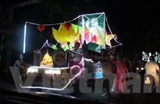 """[Photo] Người dân xứ Tuyên nô nức rước đèn Trung Thu """"khổng lồ"""""""