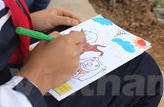 """Phát động cuộc thi vẽ tranh """"giải thoát gấu nuôi"""" tại Hà Nội"""