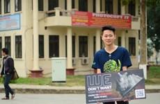Hơn 6.300 chữ ký ủng hộ chiến dịch nói không với sừng tê giác Nam Phi