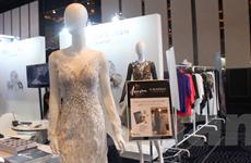[Photo] Cận cảnh các mặt hàng dệt may tại triển lãm quốc tế Seoul