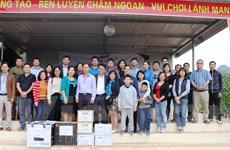 """Những món quà thiện nguyện """"sưởi ấm"""" học sinh vùng cao Hà Giang"""