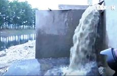 Yêu cầu xử lý nghiêm doanh nghiệp xả trộm nước thải ở Hưng Yên