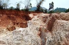 Tan hoang rừng đồi vì lỗ hổng trong quản lý tài nguyên khoáng sản