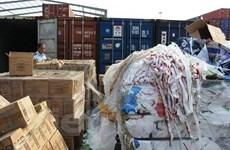 Gấp rút báo cáo hoạt động nhập khẩu phế liệu, truy tố các vụ vi phạm