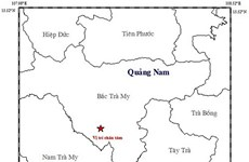 Liên tiếp xảy ra hai trận động đất tại các tỉnh Quảng Nam và Sơn La