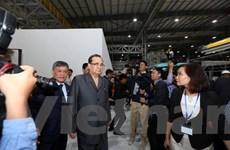 Phó chủ tịch Đảng Lao động Triều Tiên thăm quan nhà máy VinFast