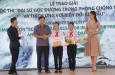 'Đánh thức vùng đất ngủ yên sau thiên tai' giành giải Đại sứ học đường