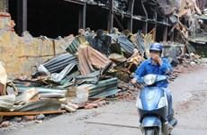 Vụ cháy Rạng Đông: Không khí tạm an toàn, lo ô nhiễm nguồn nước