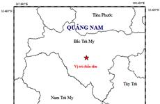Quảng Nam: Xảy ra trận động đất cường độ 2,8 tại huyện Bắc Trà My