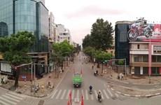 Thông số bụi PM2.5 ở Hà Nội vẫn cao trong những ngày giãn cách xã hội