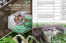 Ra mắt ấn phẩm hướng dẫn thực thi pháp luật bảo vệ động vật hoang dã