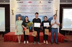 ''Nỗi lòng của nhựa'' giành giải nhất cuộc thi lan tỏa hành động xanh