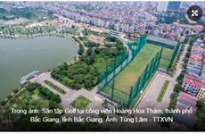 Hàng loạt sai phạm tại dự án sân tập golf, công viên Hoàng Hoa Thám