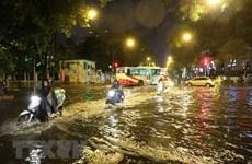 Hà Nội có 12 điểm nguy cơ ngập úng cao ở khu vực nội thành khi mưa lớn