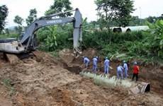 Đường ống nước sông Đà xong, dân vẫn chưa nhận được tiền thuê nhà tạm