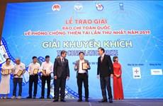 Báo VietnamPlus đạt giải báo chí về phòng chống thiên tai năm 2019
