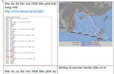 """Bác bỏ thông tin bão số 8 có khả năng mạnh lên tới cấp """"siêu bão"""""""
