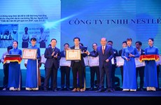 Nestlé Việt Nam được trao tặng Giải thưởng Môi trường Việt Nam